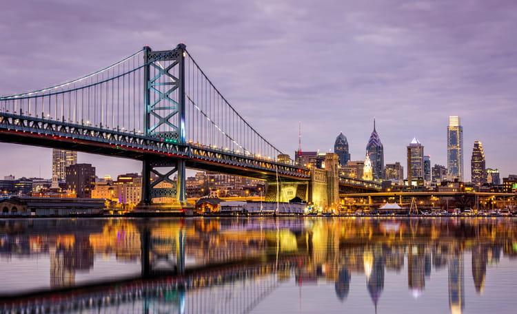 Philadelphia Skyline Aerial