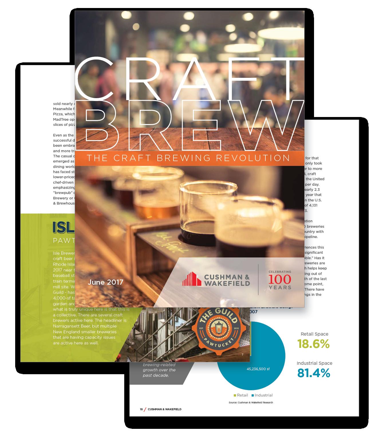 Craft Brewing Report