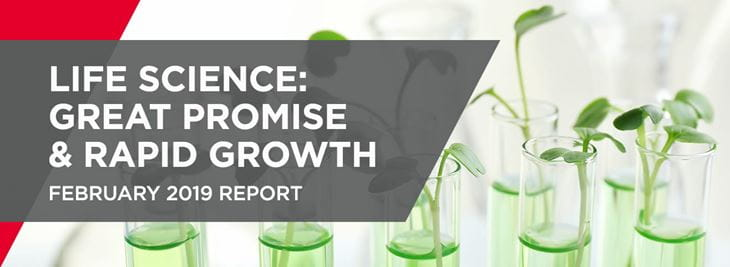 Life Sciences 2019 Report Banner