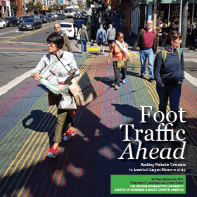 foot traffic report cover