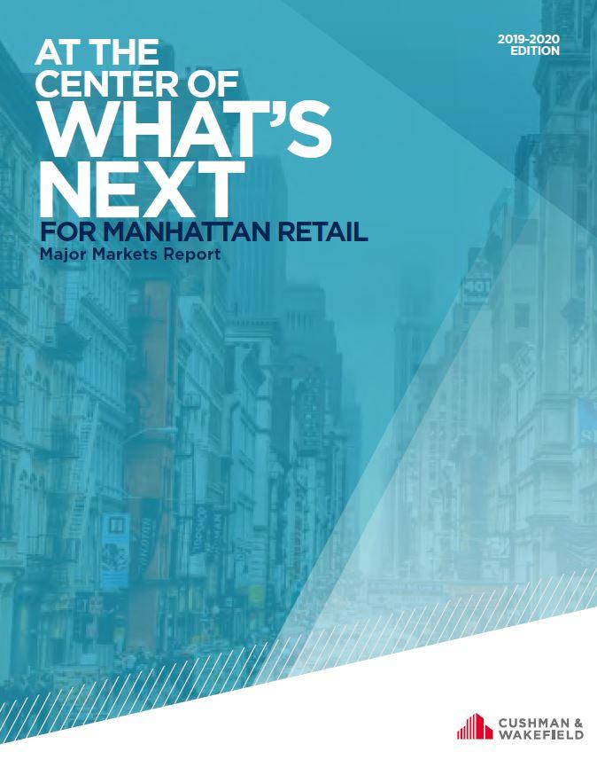 Manhattan Retail Major Markets Cover
