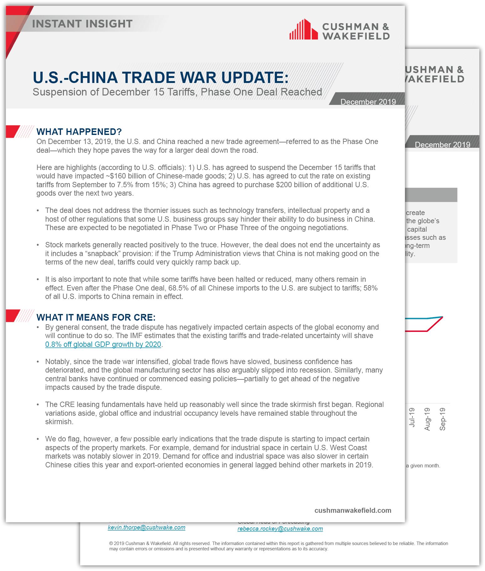 US China Trade War Update Report Thumbnail