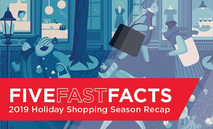 2019 Holiday Shopping Recap Card