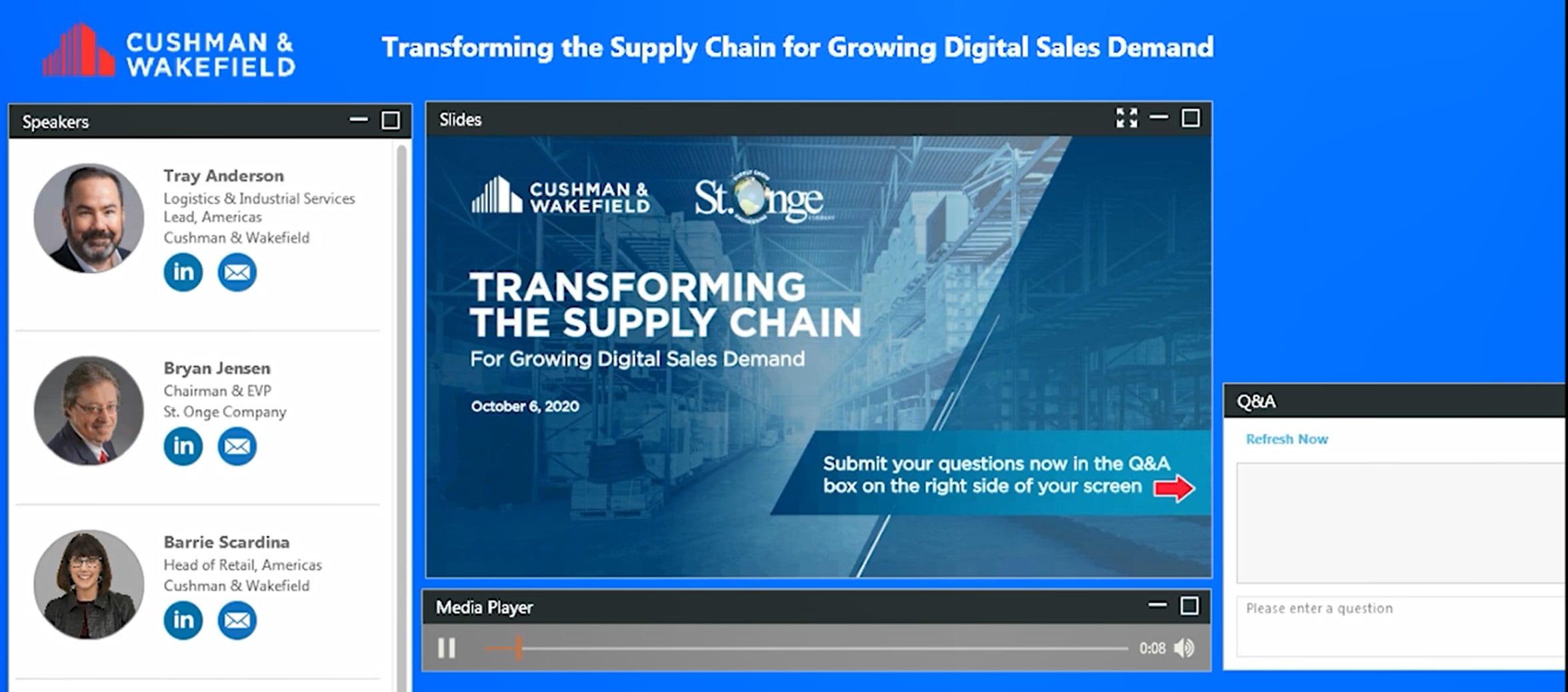 Supply chain Webinar (image)