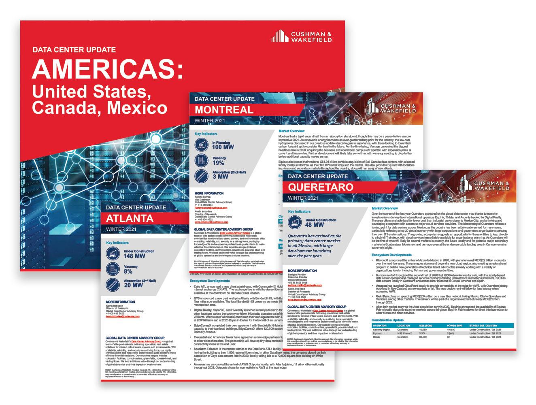Americas Data Center Update (image)