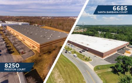 Santa Barbara warehouse and Baltimore warehouse