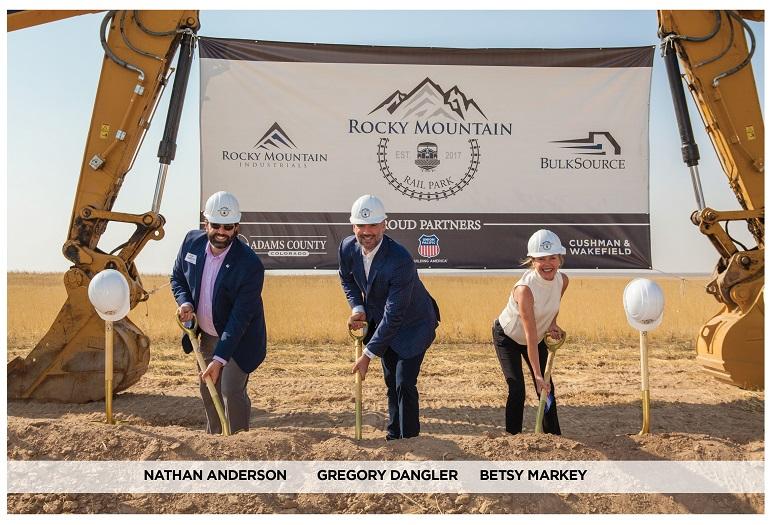 Rocky Mountain Rail Park Groundbreaking