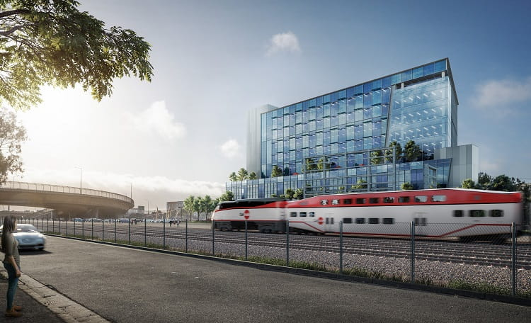 South City Station rendering DES