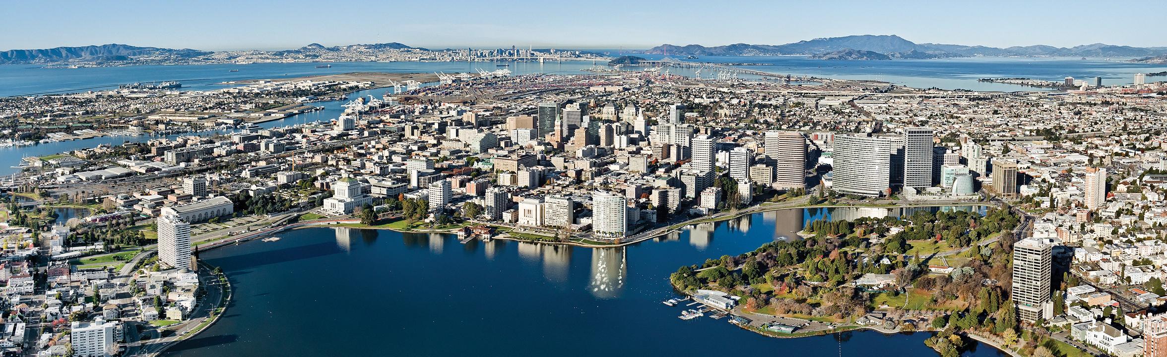 Oakland Cityscape Panorama