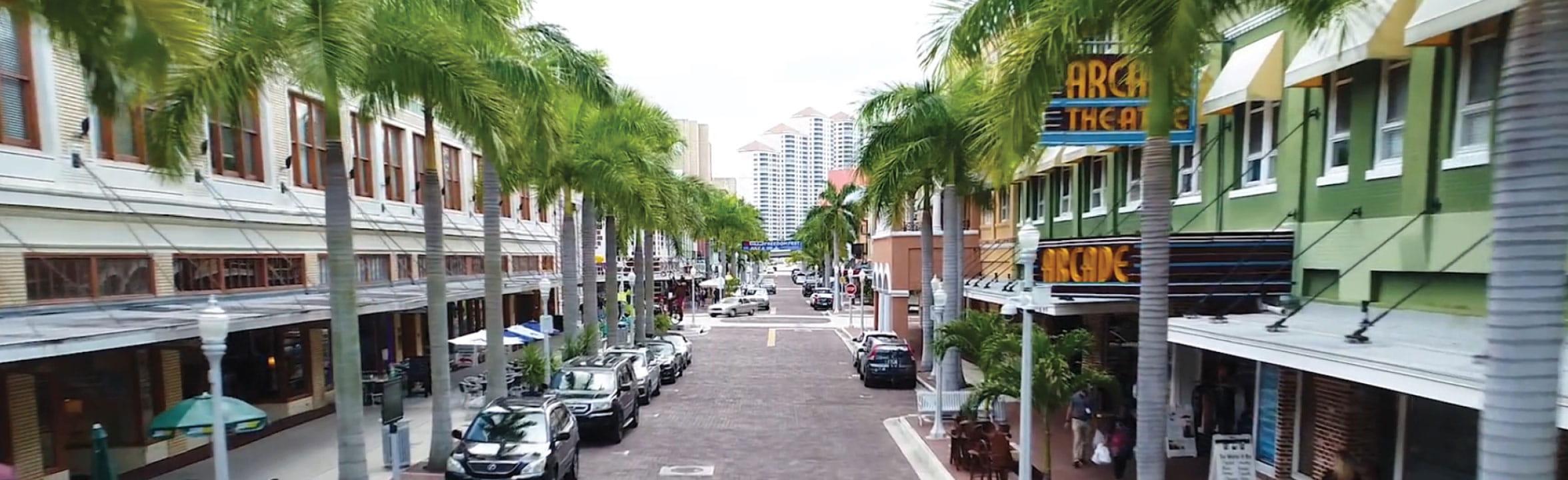Fort Myers Florida skyline
