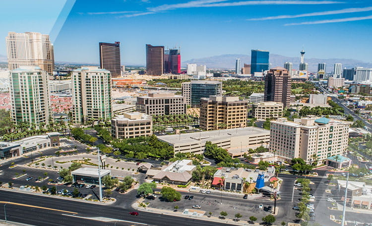 Las Vegas Nevada skyline
