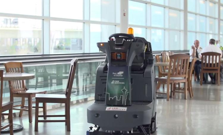 CW Services Robots SEATAC