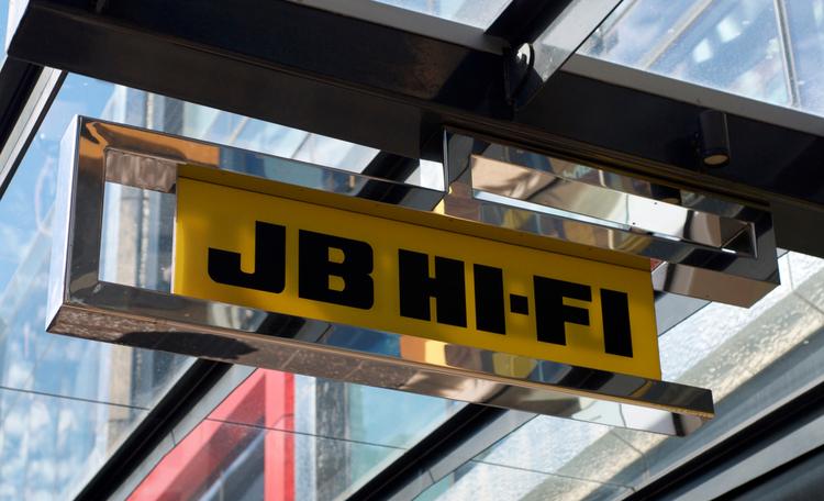 JB HI-FI Logo