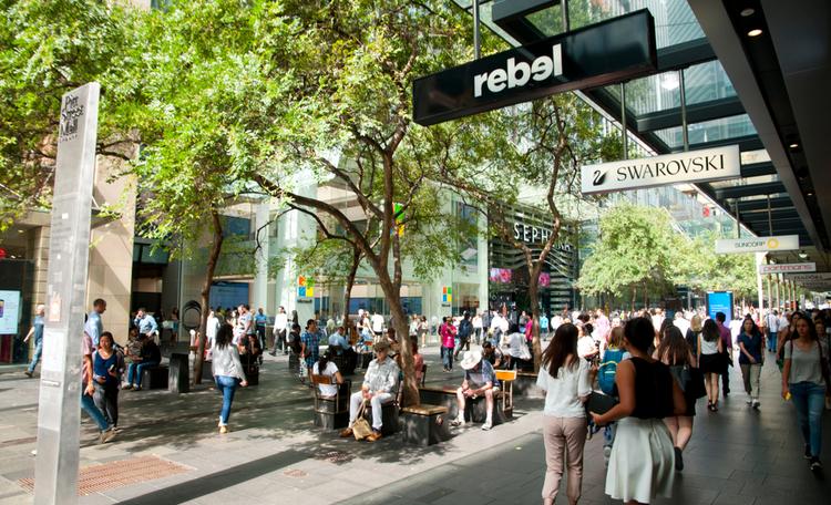 Pitt Street Sydney Retail