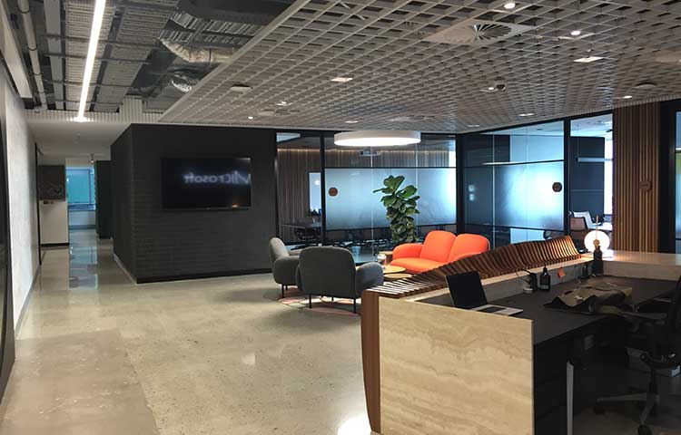 Microsoft Fit-out in Perth