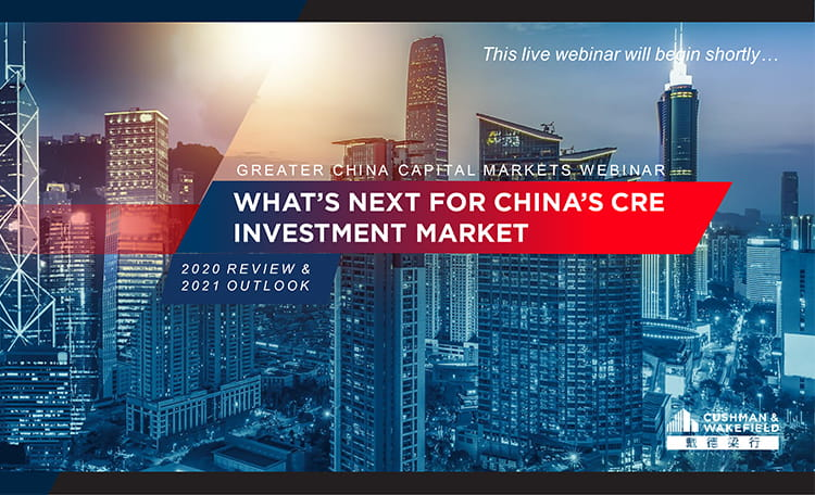What's Next for the China CRE Investment Market