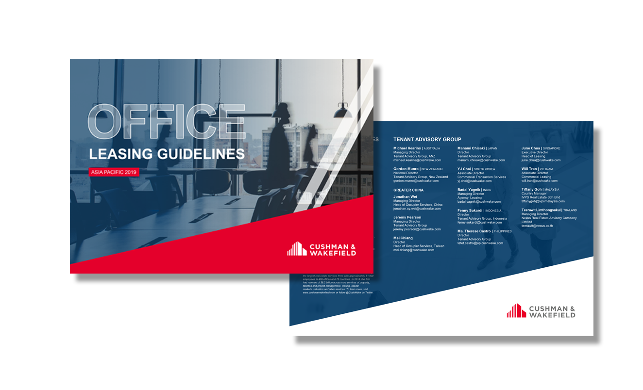 ESSENTIAL OFFICE LEASING GUIDELINES ACROSS ASIA PACIFIC