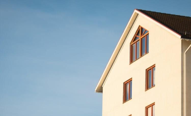 Beige Concrete House