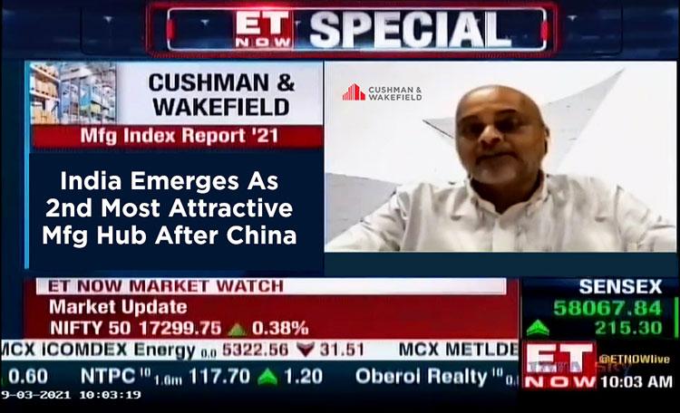 Anshul Jain on ET Now's The Market