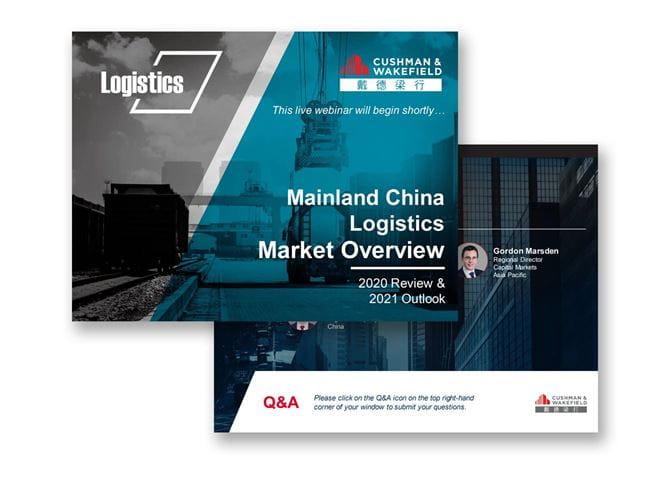 China Logistics Webinar Report 2021