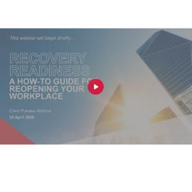 Webinar APAC Recovery Readiness