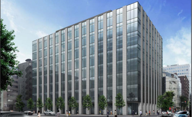Office Leasing Opportunities Available at New Office Development in Sapporo