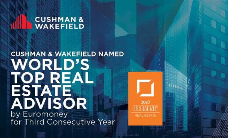 Cushman & Wakefield Again Named World's Top Real Estate Advisor by Euromoney