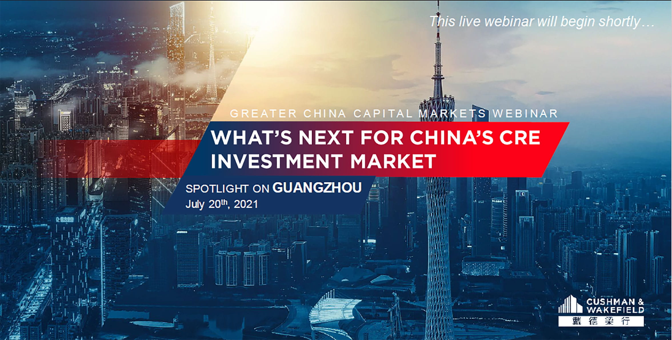 What's Next for China's CRE Investment Market - Spotlight on Guangzhou