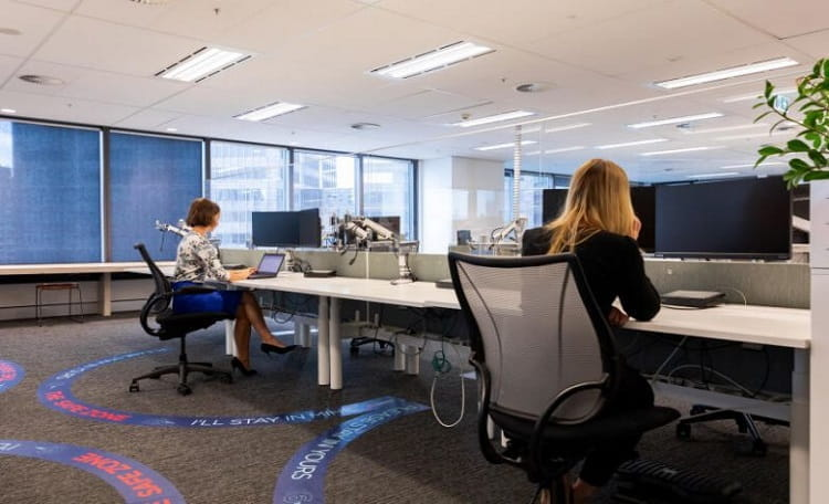 How the pandemic is changing office space