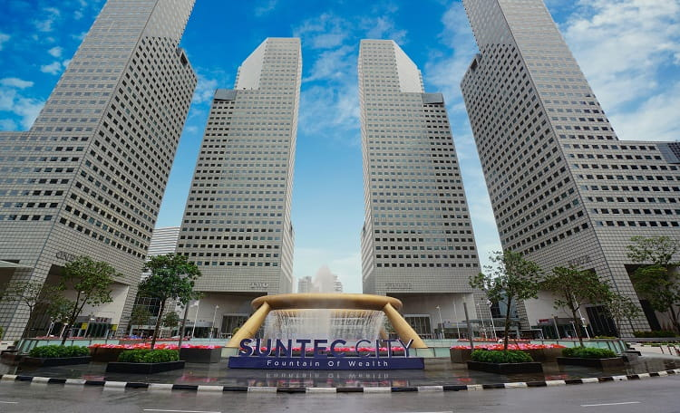 Two Levels of Suntec Offices for Sale by Expression of Interest