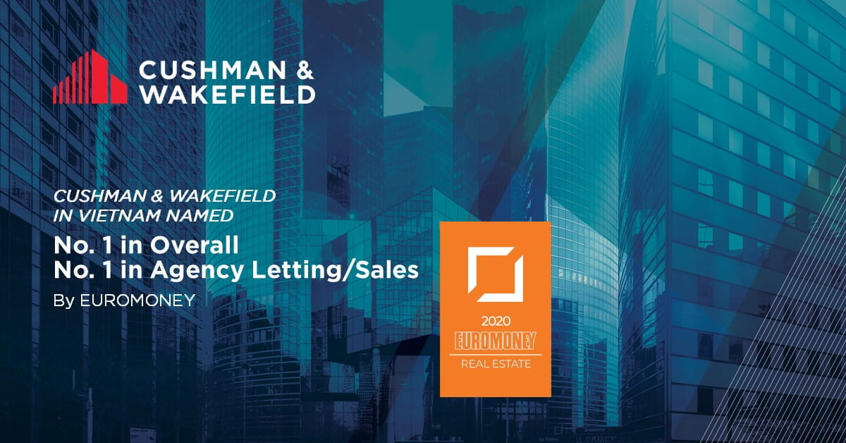 Cushman & Wakefield named world top real estate advisor by euromoney for the third consecutive year