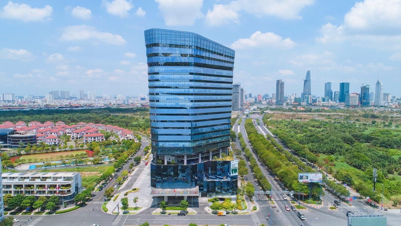 Thu Duc City's office rent market emerges and is set up for a supply take-off