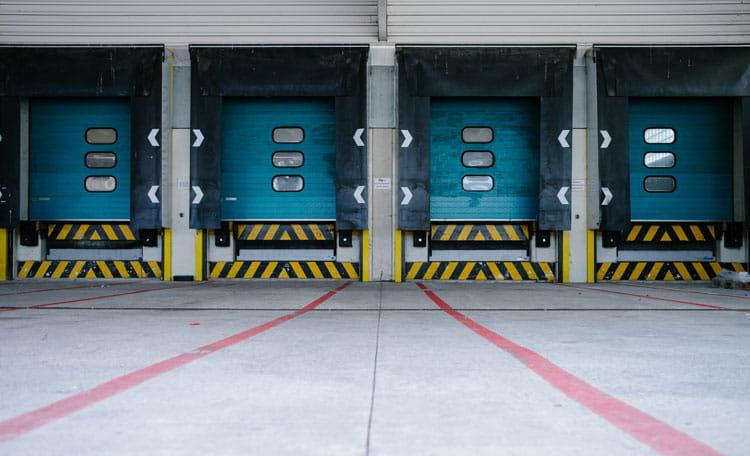 loading bay, Vienna, Austria