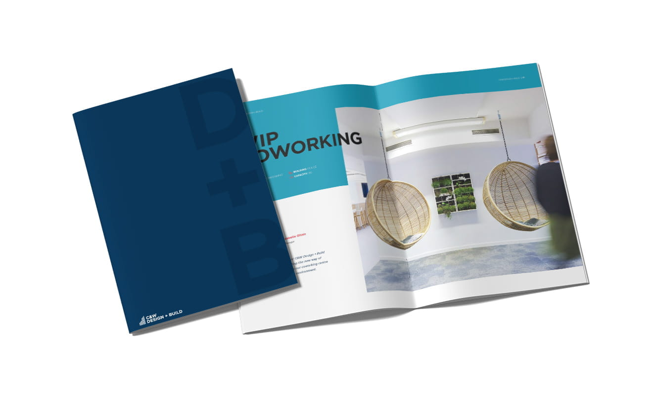 Cushman and Wakefield Design and Build Presentation Services Brochure