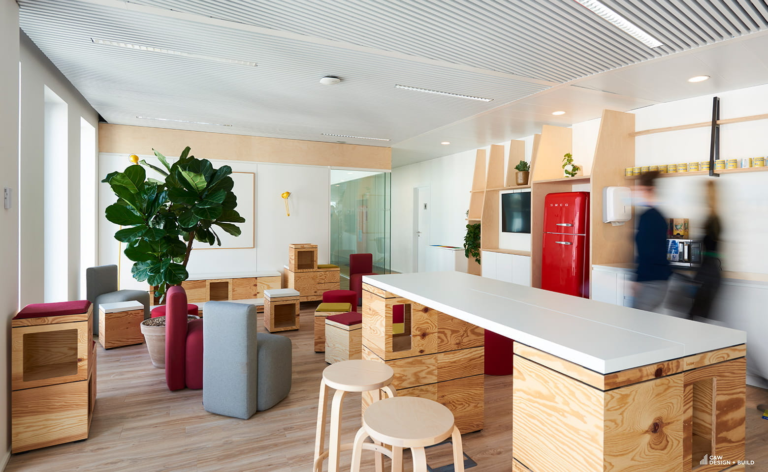 Unilever new offices by Cushman & Wakefield Design + Build