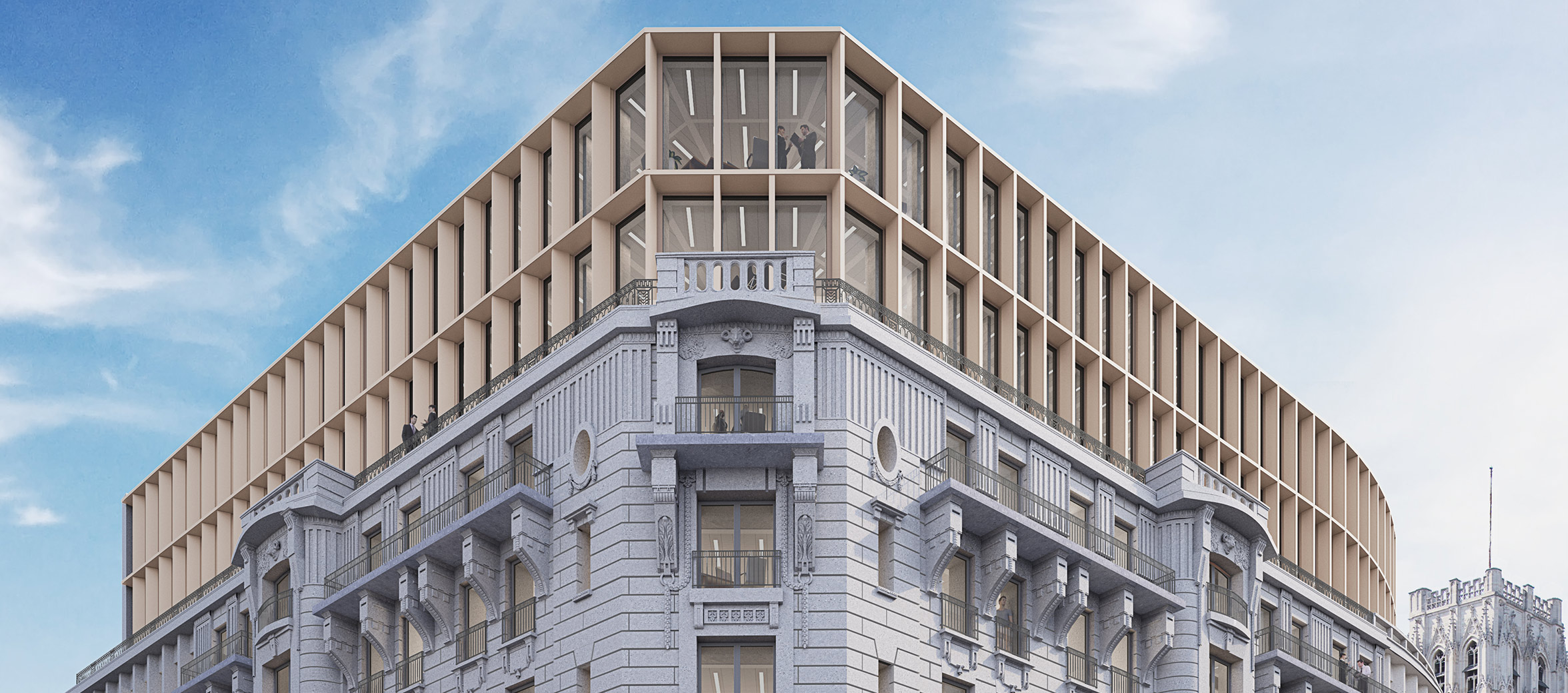 Chancellerie project in Brussels