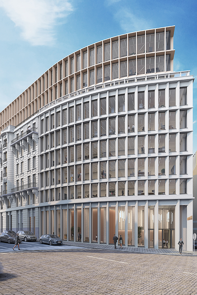 Chancellerie office project in Brussels