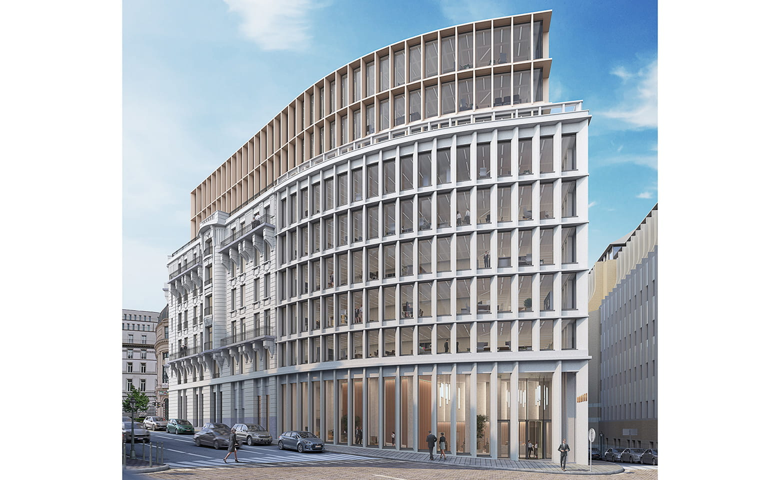 Chancellerie office building project in Brussels