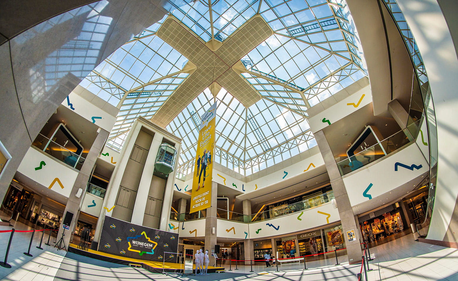 Wijnegem Shopping Centre Inside