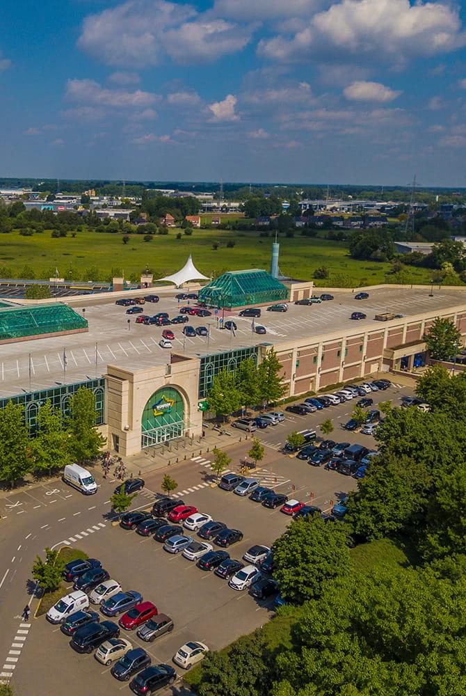 Wijnegem Shopping Centre Aerial View