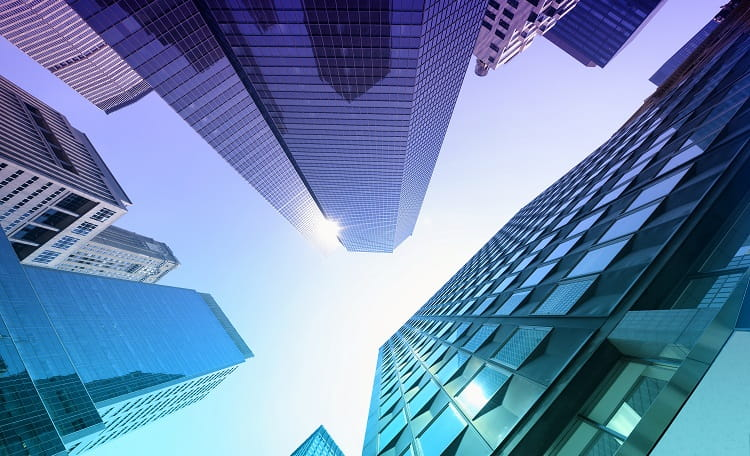Office, building, skyscraper