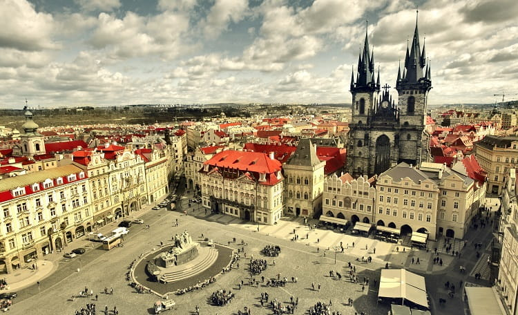 Czech Republic, Prague, Old Town Square, High Street