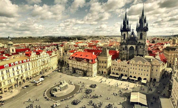 Czech Republic, Prague, Old Town Square, High Street
