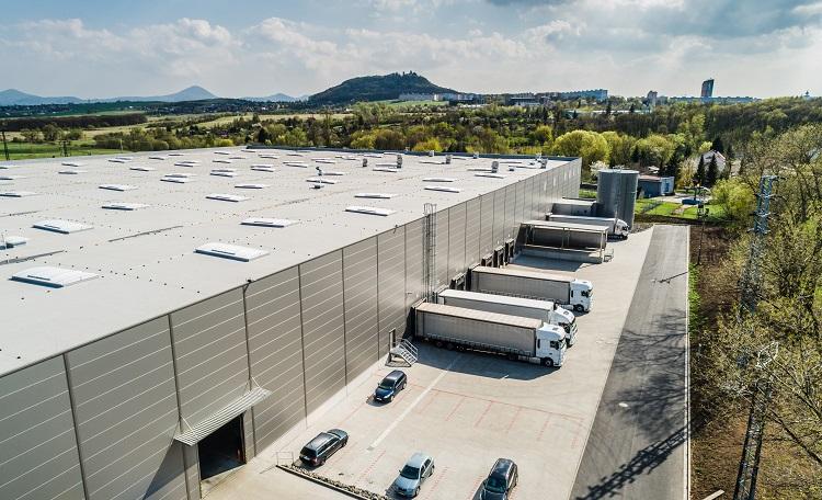 warehouse, industrial, truck