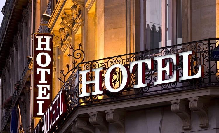 Hotel, signage
