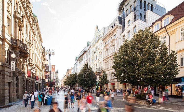 Na Příkopě street, Prague