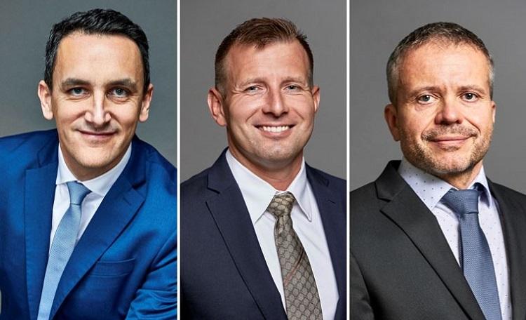 Partner, promotions, Frederic Le Fichoux, Robert Bocker, Petr Landsinger
