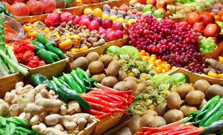 retail, food, fruit, vegetable