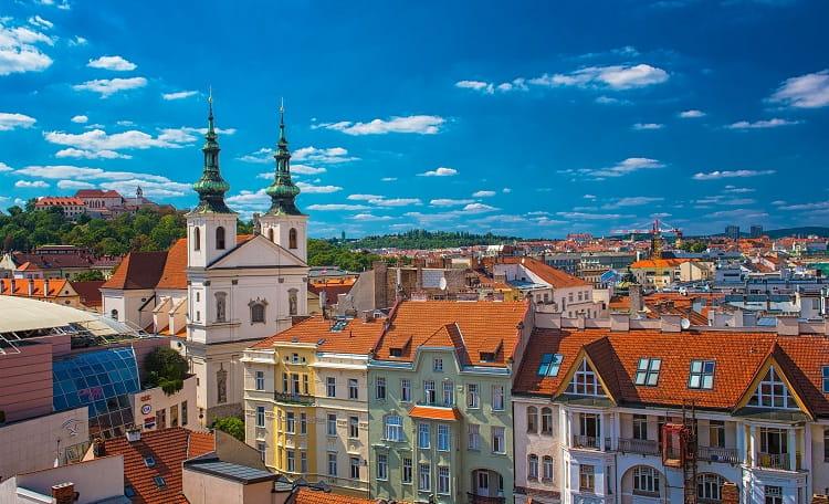 Brno, Castle, day
