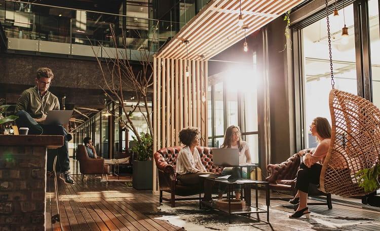 Office, people, workspace